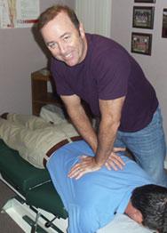 Cox Chiropractic Adjustment